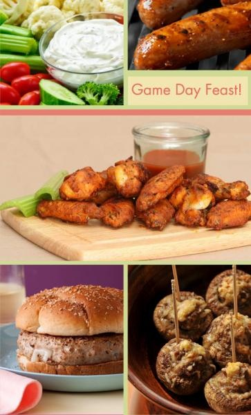 healthy football food Menu