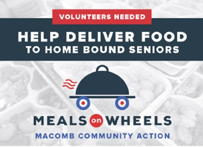 Macomb County Has Urgent Need For Meals On Wheels Volunteers