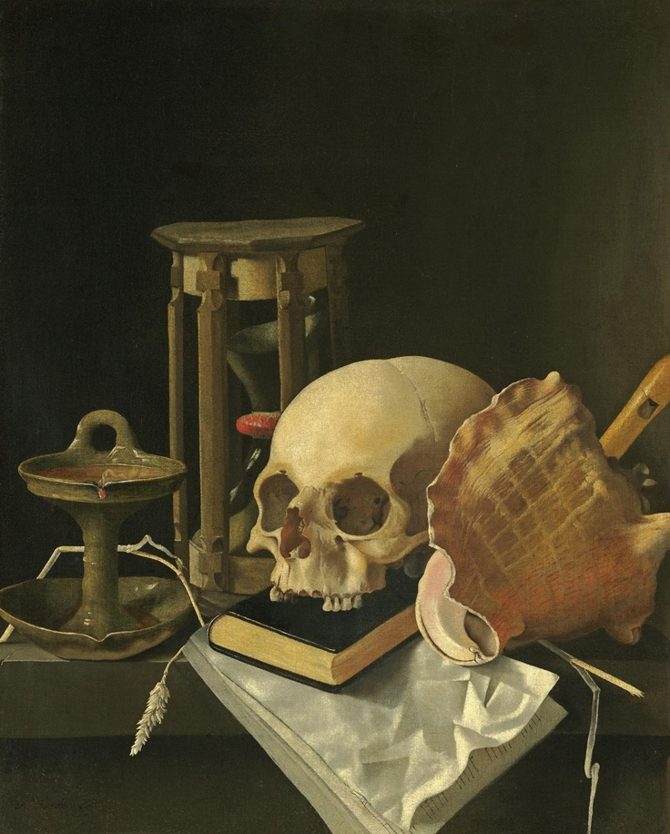 Adriaen Coorte (1660? - after 1707) - Vanitas still life, 1686