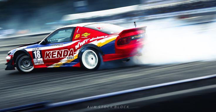 KENDA Tire Drift Action @ Thailand Drift Series 2014