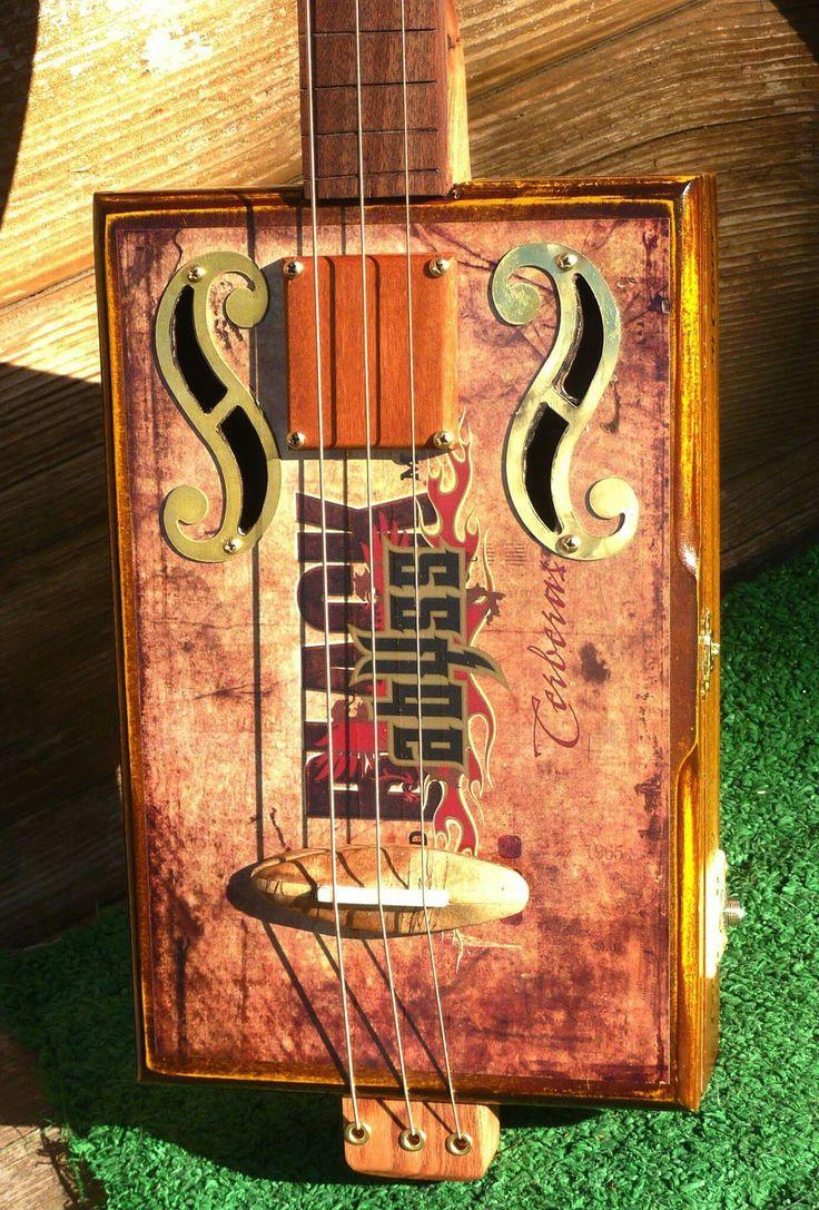 17 Best Images About Cigar Box Guitars On Pinterest