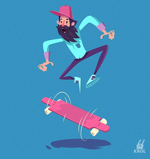 You can buy these illustrations in my online store on Creative Market. Mega set of stylish vector characters.