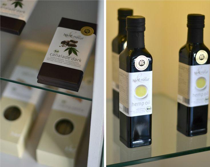 hemp chocolate + hemp oil