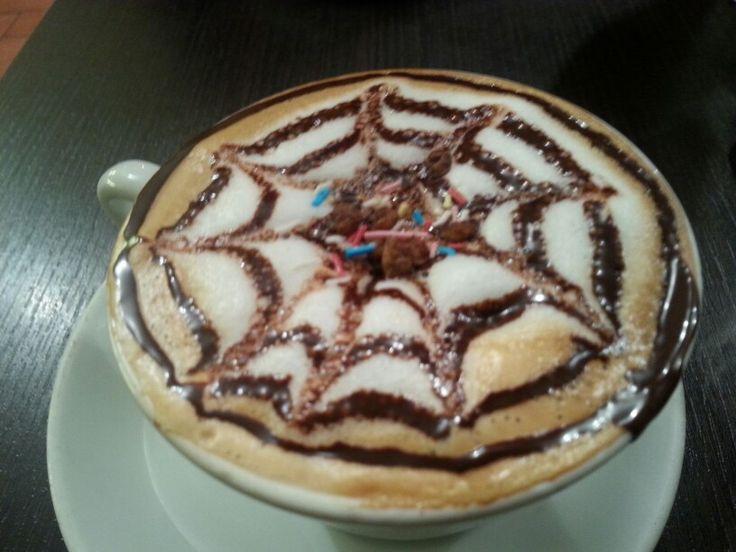 Caffe lucchesi in Barga, Toscana
