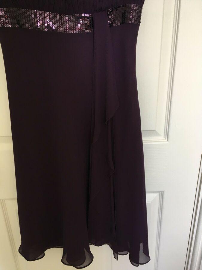 Debenhams Debut Dress Size 10 Purple Bridesmaid Prom Wedding Party Occasion Ad Ad Size Dress Debenhams Debut Dresses Debenhams Dresses Prom Party Dresses