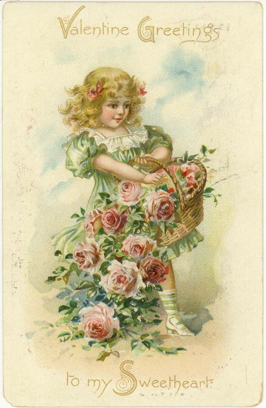 155 best images about Vintage Valentine Art – Vintage Victorian Valentine Cards