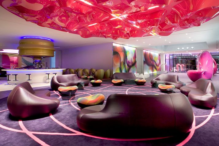 NHow hotel Berlin - beautiful space: Nhow Hotels, Nhow Berlin, Hotels Berlin, Boutiques Hotels, Architecture Interiors, Home Interiors Design, Industrial Style, Karim Rashid, Karimrashid