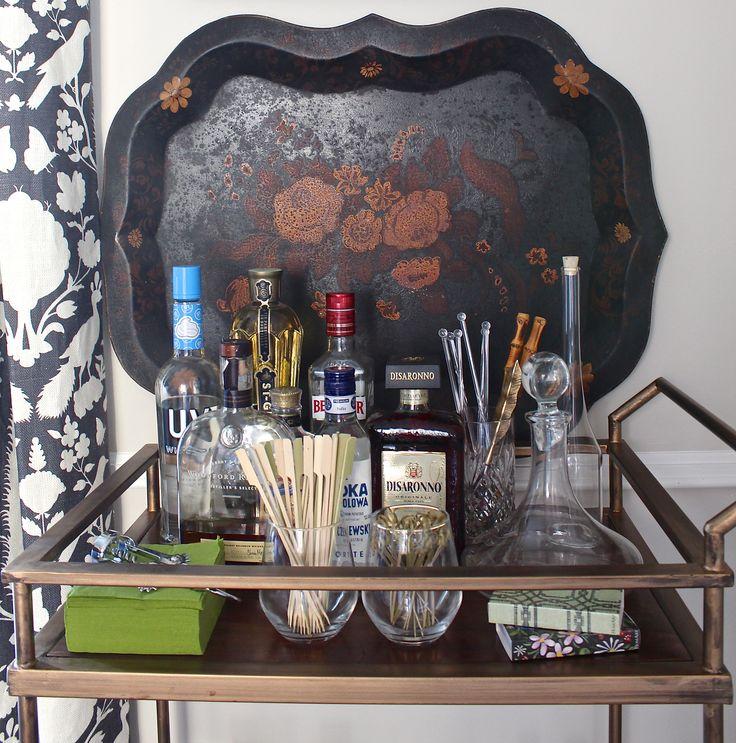 Holly Mathis Interiors Living Room BarDining