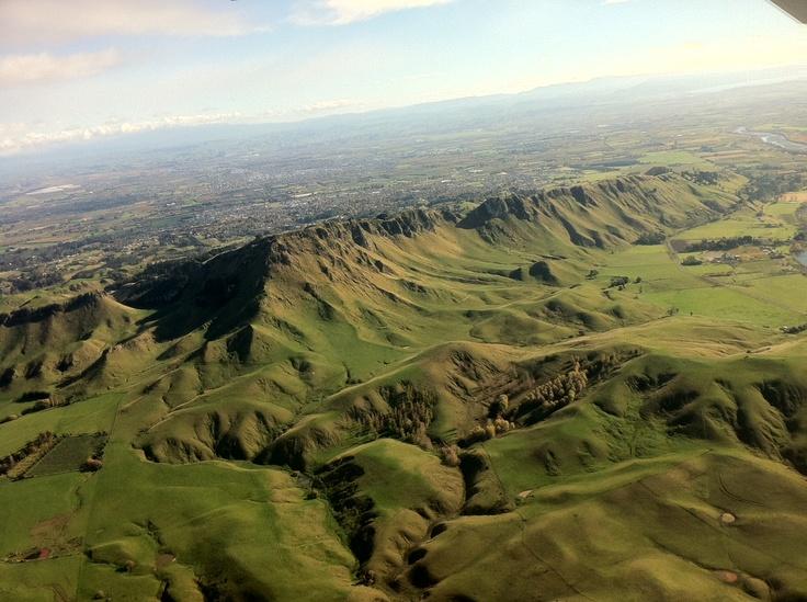 Te Mata Peak.  Photo/Peter Fowler