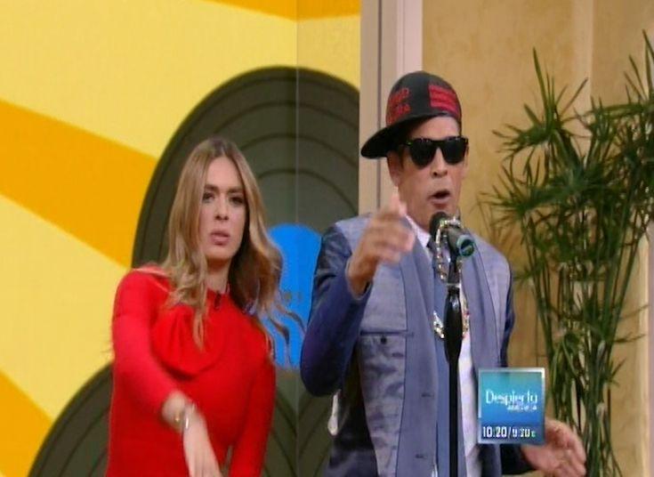 Los presentadores de Despierta America pusieron a reír a todos con su reto musical
