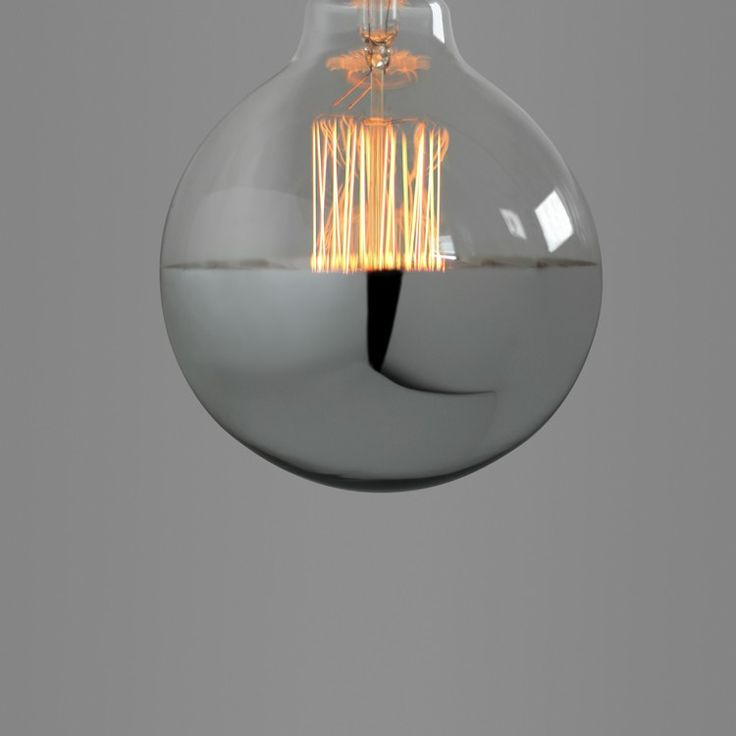 nostalgia lights exposed filament bulb silver capped globe nook london
