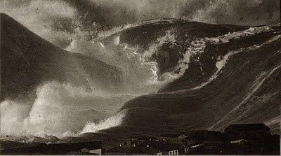 """Las olas del mar son ondas sísmicas (movimientos de un medio material). Hay dos movimientos que las distinguen. La """"oscilación"""" del medio movido por la onda, es un movimiento circular. La """"propagación"""" de la onda, que se produce porque la energía se transmite con ella, trasladando el fenómeno con una dirección y velocidad, llamada en este caso velocidad de onda."""