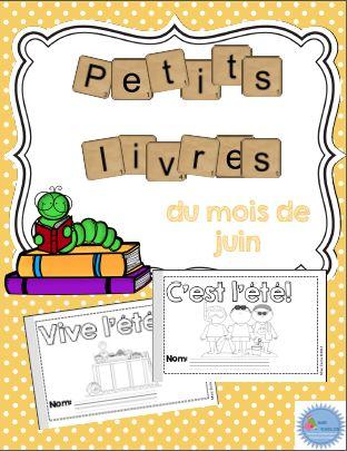 French Emergent Reader mini-books/Voici deux petits livres à assembler parfaits pour les lecteurs débutants afin de pratiquer une structure répétitive (Voici, Il y a, Je vois, Je regarde, C'est). Les livres contiennent le vocabulaire du mois de mai de la trousse d'étude de vocabulaire thématique. Chaque livre est disponible en trois versions: - un petit livre à colorier  - un petit livre à dessiner  - un petit livre à compléter avec le bon mot