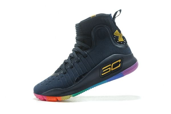 3f47f3f0f88a Under Armour Curry 4 VI New Colorways Midnight Navy Rainbow