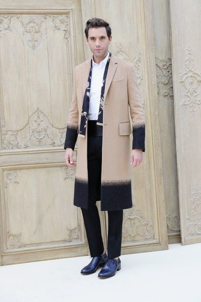 Mika attends the Valentino show as part of the Paris Fashion Week Womenswear  Spring/Summer 2017  on October 2, 2016 in Paris, France.