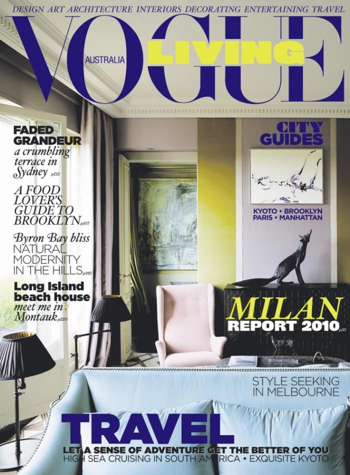 46 best Vogue Living Covers images on Pinterest Vogue living - k amp uuml che aus paletten