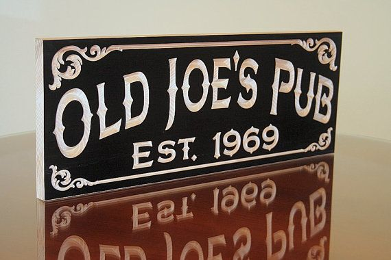 Man Cave Bar Names : Best custom wooded signs made for you images on