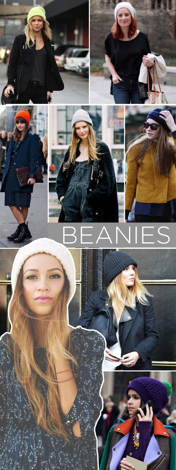 Winter's must-have accessory --the beanie | www.theglitterguide.com
