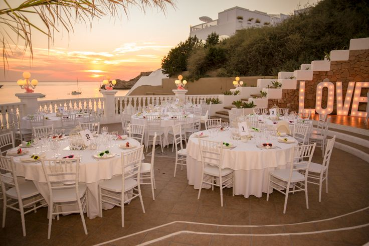 Sea View Terrace wedding venue in Ibiza