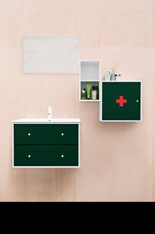 Bathroom - Design - Green - Sink
