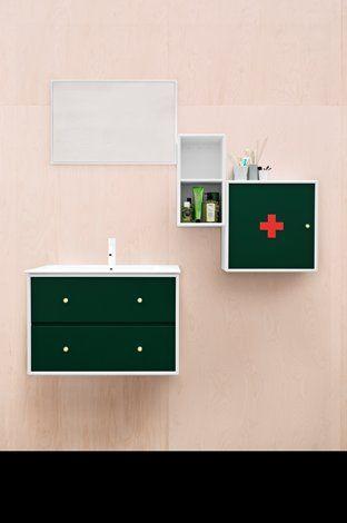 Bathroom - Design - Green - Sink