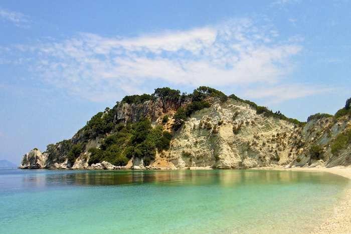 You'll want to linger on Gidaki Beach Ithaca