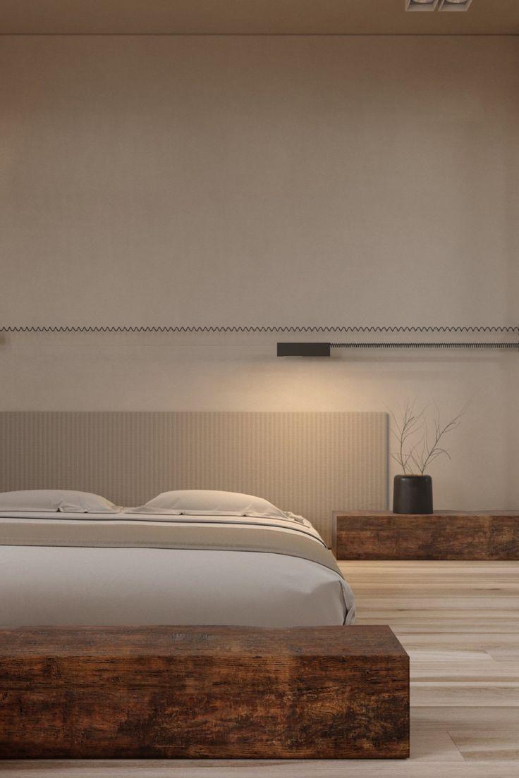 Oltre 25 fantastiche idee su testata del letto in legno su for Grandi capanne di tronchi