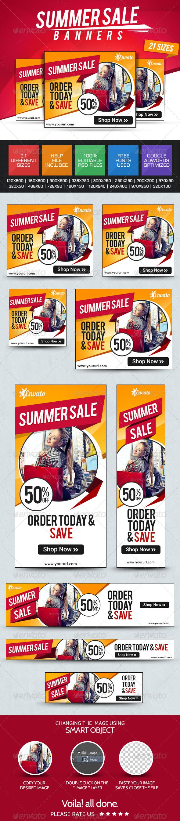 Summer Sale Web Banners Template PSD | Buy and Download: http://graphicriver.net/item/summer-sale-banners/7775157?WT.ac=category_thumb&WT.z_author=BannerDesignCo&ref=ksioks