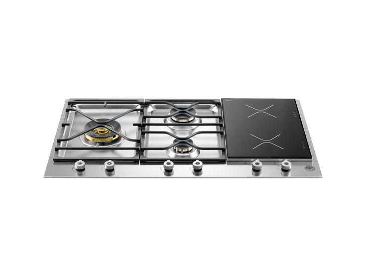 36 Segmented Cooktop 3-burner and 2 induction zones | Bertazzoni