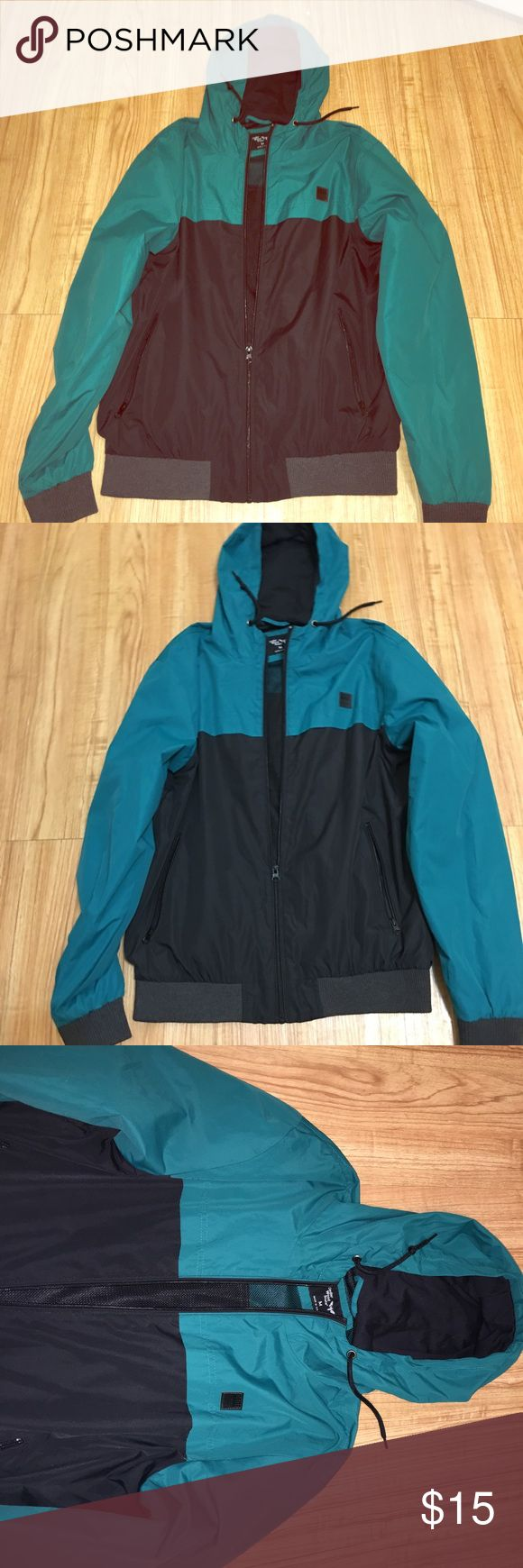 Vintage Windbreaker Has a vintage feel! Very nice color scheme. Jackets & Coats Windbreakers