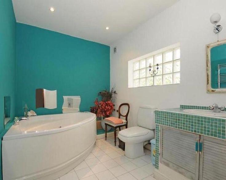 10 mani res de d corer sa salle de bain en turquoise for Salle de bain marron et turquoise