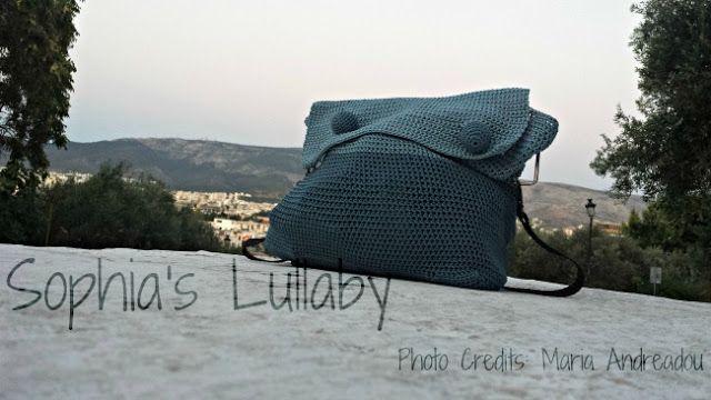 crochet bag sophia's lullaby handmade love!