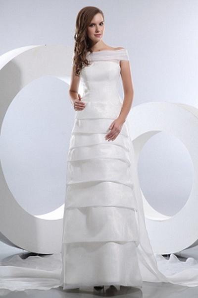 Elegant Off Schulter Ein Online-Hochzeitskleid ba0573 - http://www.brautmode-abendkleid.de/elegant-off-schulter-ein-online-hochzeitskleid-ba0573.html - Ausschnitt: Off Schulter. Stoff: Organza. Ärmel: Ärmellos. Farbe: Elfenbein. Silhouette: A-Line. - 179.