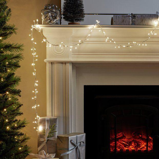 Buy Argos Home 300 Led Mini Cluster Wire Light Christmas Lights Argos Giftryapp Wire Lights Christmas Lights Argos Home