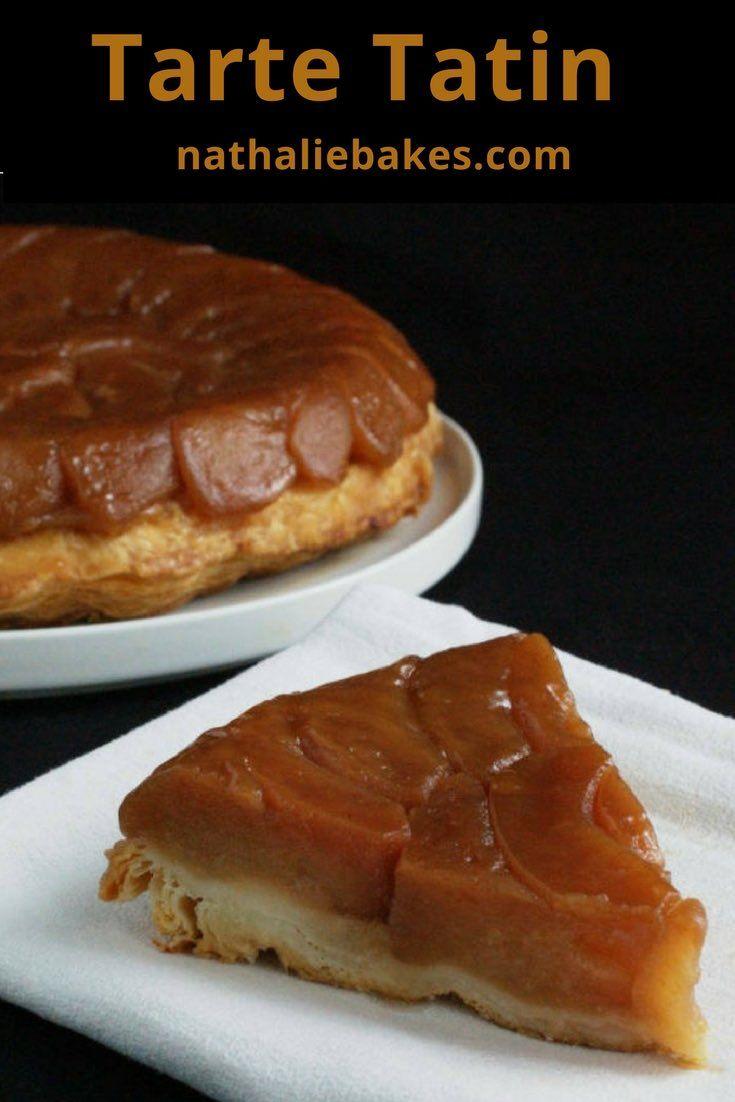 Tarte Tatin version Christophe Michalak: une pâte feuilletée croustillante surmontée de pommes ultra fondantes et caramélisées. Une tuerie! #pommes #tatin #tarte |