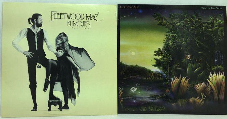 Fleetwood Mac Lot of 2 #Vinyl Record Albums- #Rumors + Tango in the Night