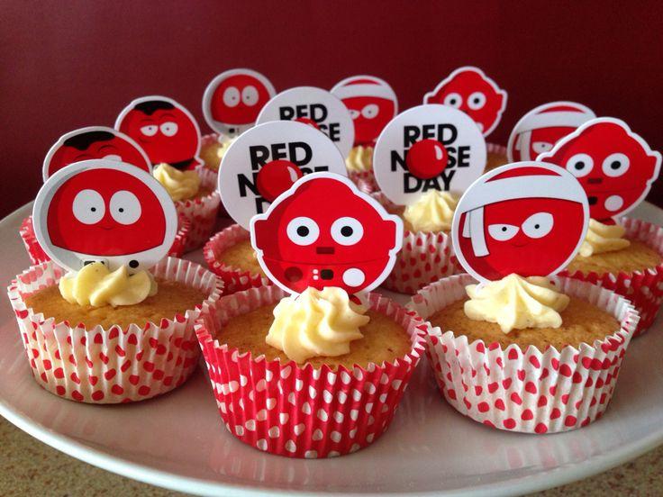Red Nose Day cupcake kit