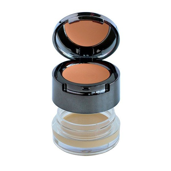 With a peach color corrector and full-coverage concealer, dark circles have nothing on the two-step Bodyography Cover and Correct.
