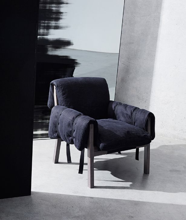 DIESEL with Moroso Strapped armchair