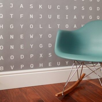 Identity papers - Custom Word Search Wallpaper Tent London Stand J08, Hall T5