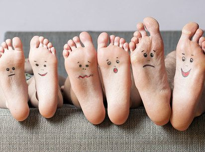 Treat cracked feet with avocado and banana!   10 Hacks That Will Make Your Feet Feel Like Heaven On Earth