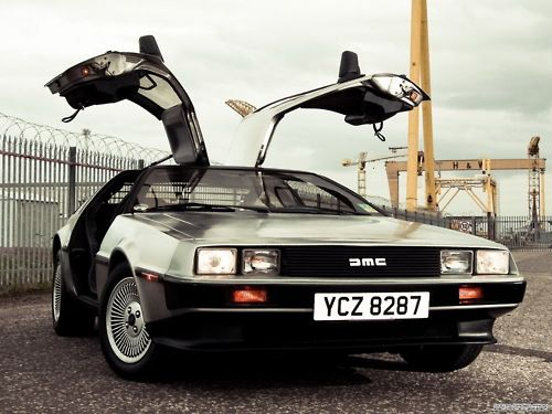 1981 DeLorean DMC-12 Designed by Giorgetto Giugiaro. Still one of the coolest cars ever.