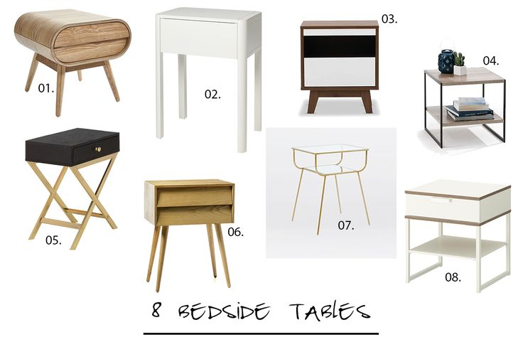 8 bedside tables you might like