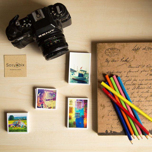 Sosyopix - Mini Foto Kartlar Mini, sevimli ve çok farklı bir ürün. 72 tane fotoğrafını seç, tam anlamıyla mini fotoğraf koleksiyonunu yarat.