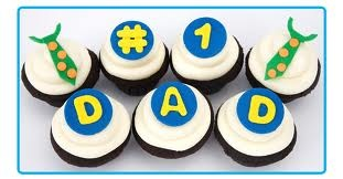 i heart dad cupcakes - Google Search