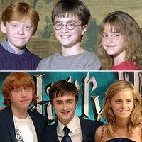 before and after,,,,Harry Potter