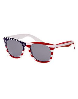 Red white and blue sunglasses - July 4th