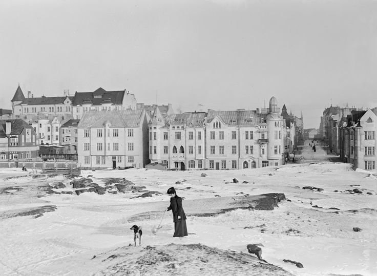 Vintage photos of Helsinki circa 1900