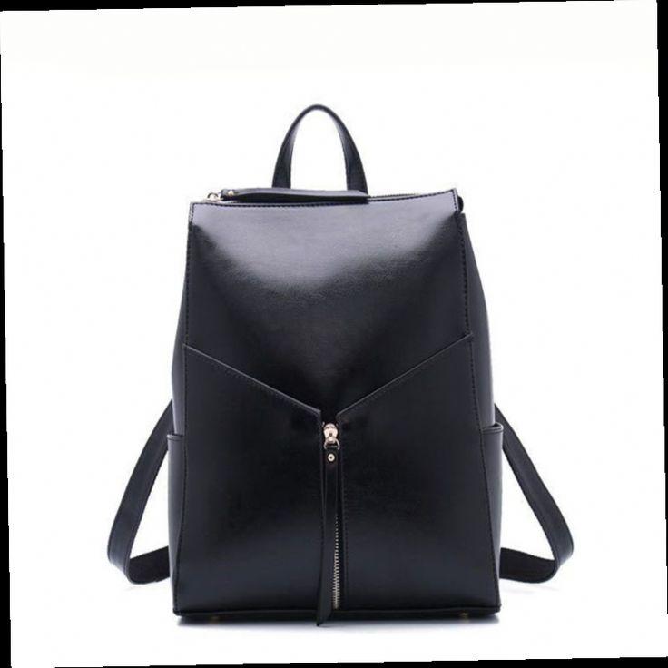 46.05$  Watch here - http://aliob3.worldwells.pw/go.php?t=32781471111 - Hot Sale Fashion Women Backpack High Quality Leather Backpacks for Teenage Girls School Shoulder Bag Bagpack mochila masculina