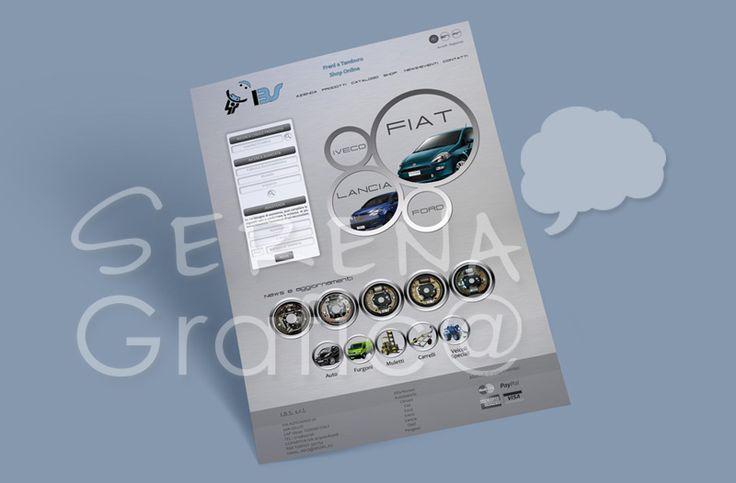 Progettazione, realizzazione della grafica e impaginazione di un template, finalizzato per la vetrina dell'attività. Sito e-commerce, responsive, che vuole in prima pagina mostrare tutte le tipologie dei prodotti e il login.